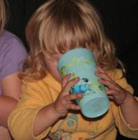 Will 2y drinking from a beaker_1.jpg